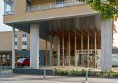 Nieuwe prikpost in Lippink's hof