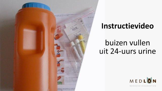Instructievideo buizen vullen uit 24-uurs urine