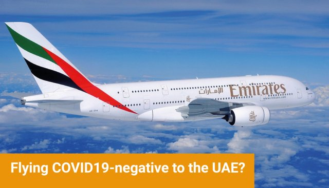COVID19-negative to UAE?